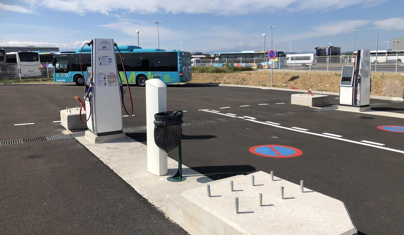 SEVEN inaugure une station bioGNV à Perpignan