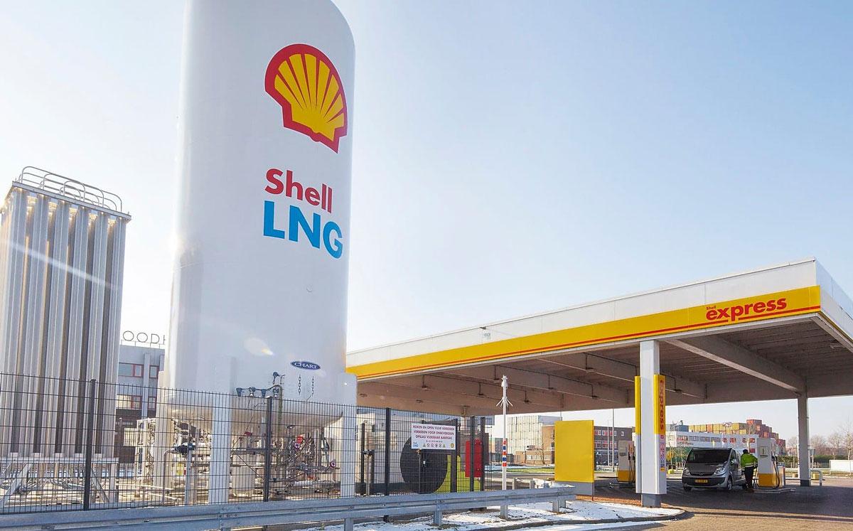 Shell ouvrira ses premières stations GNL en France en 2020