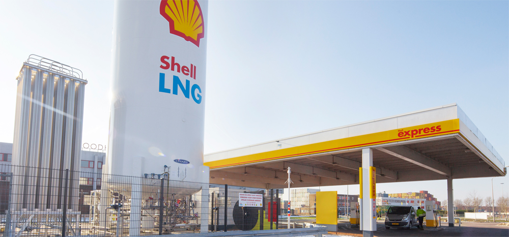 Shell ouvre sa premi�re station GNL d'Europe aux Pays-Bas