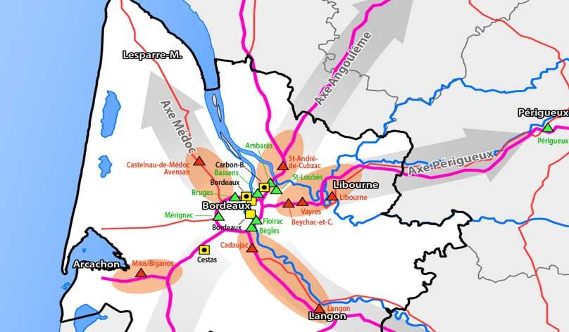 Schéma de déploiement : la Gironde identifie un potentiel de 15 stations GNV