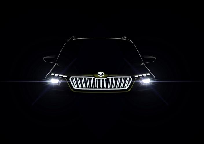 Skoda Vision X : un SUV hybride GNV à Genève