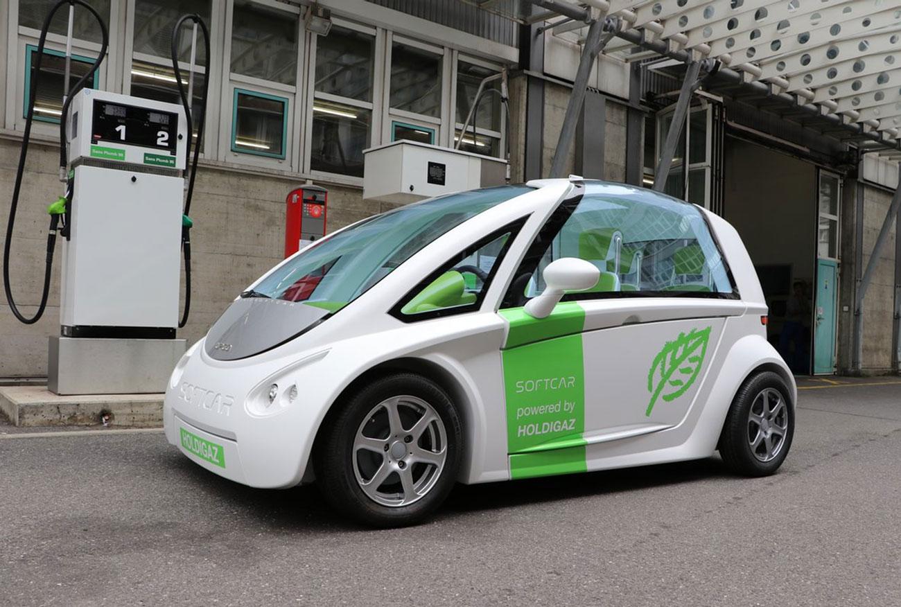 Holdigaz veut lancer la production d'une voiture hybride au gaz naturel