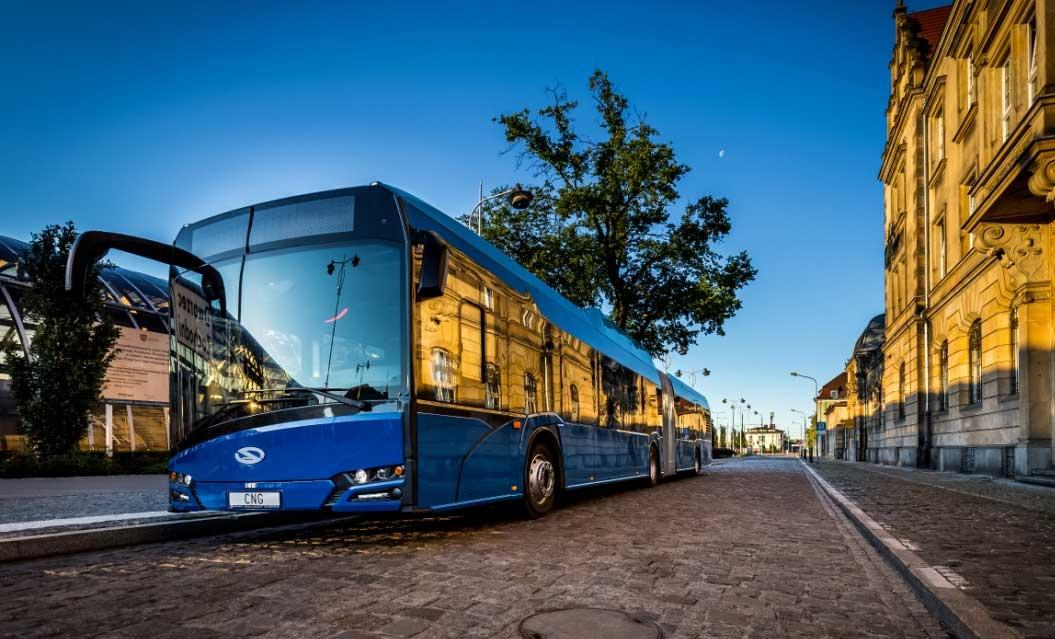Suède : Solaris va livrer 42 bus GNV à Gävle
