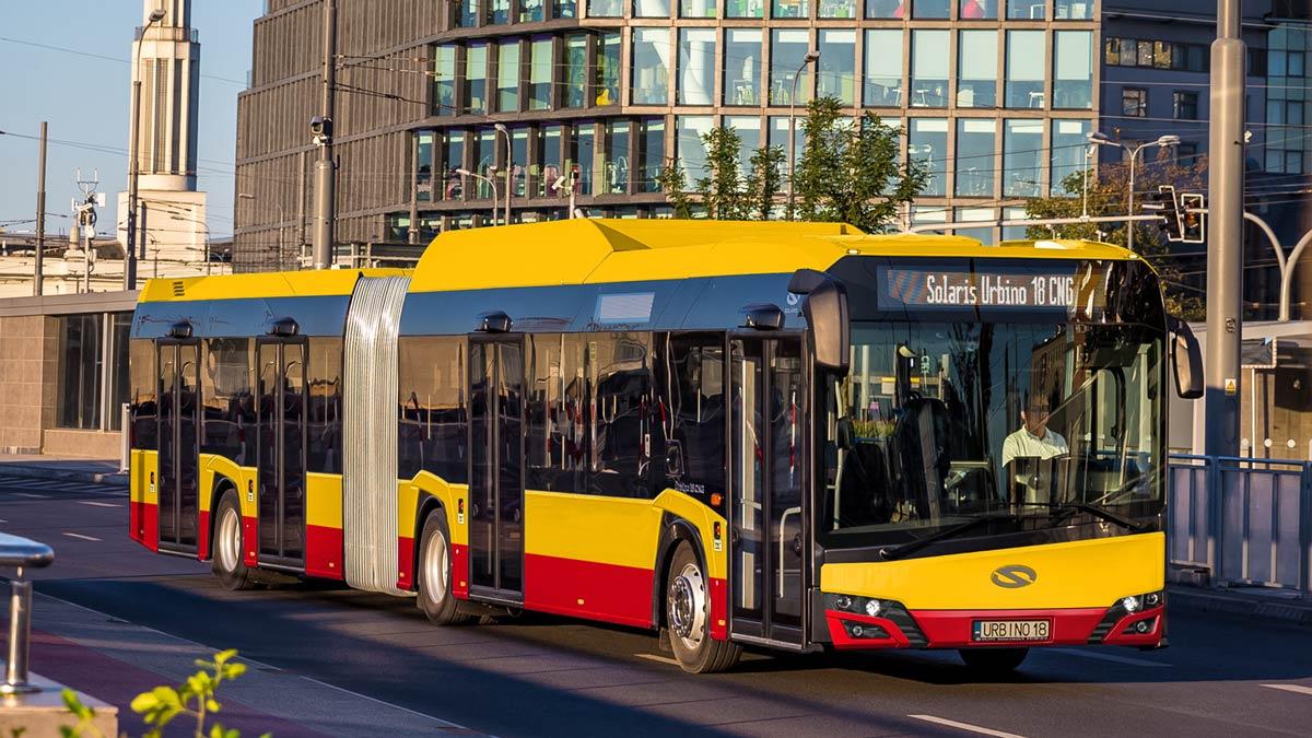 70 nouveaux bus au gaz naturel pour Varsovie