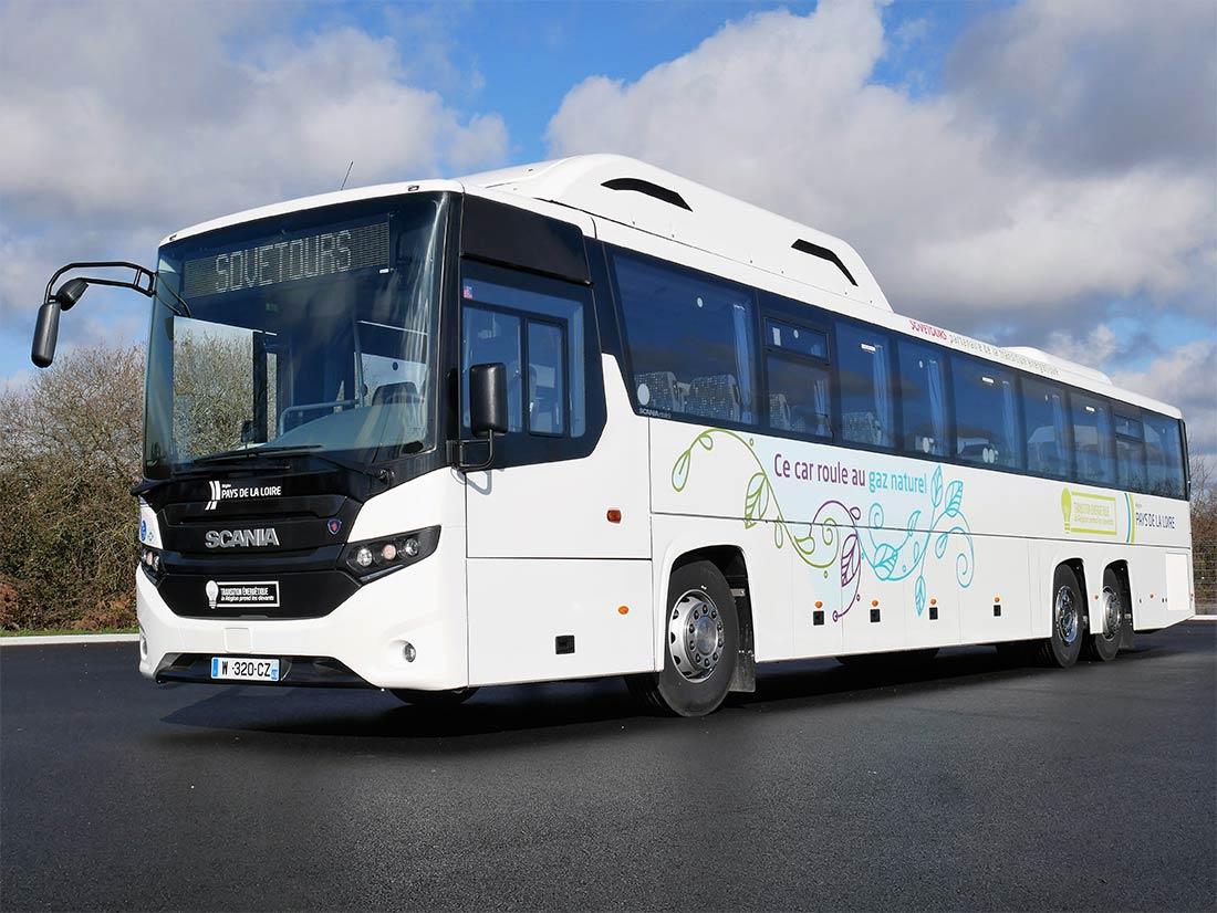La CATP lance un appel d'offres pour référencer des autocars GNV