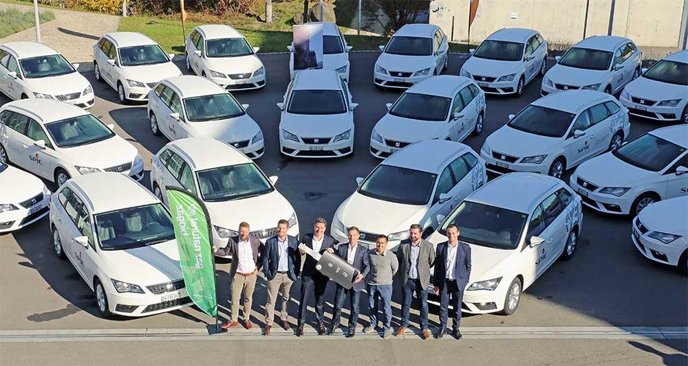 Suisse : des voitures au bioGNV pour la flotte de SPIE