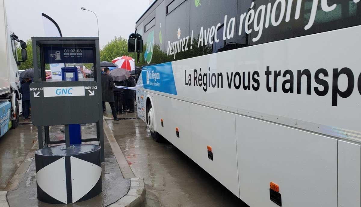 Villefranche-sur-Saône : la station GNV AS 24 officiellement inaugurée