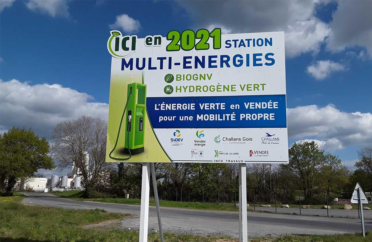 Challans : une sixième station bioGNV en Vendée d'ici fin 2021