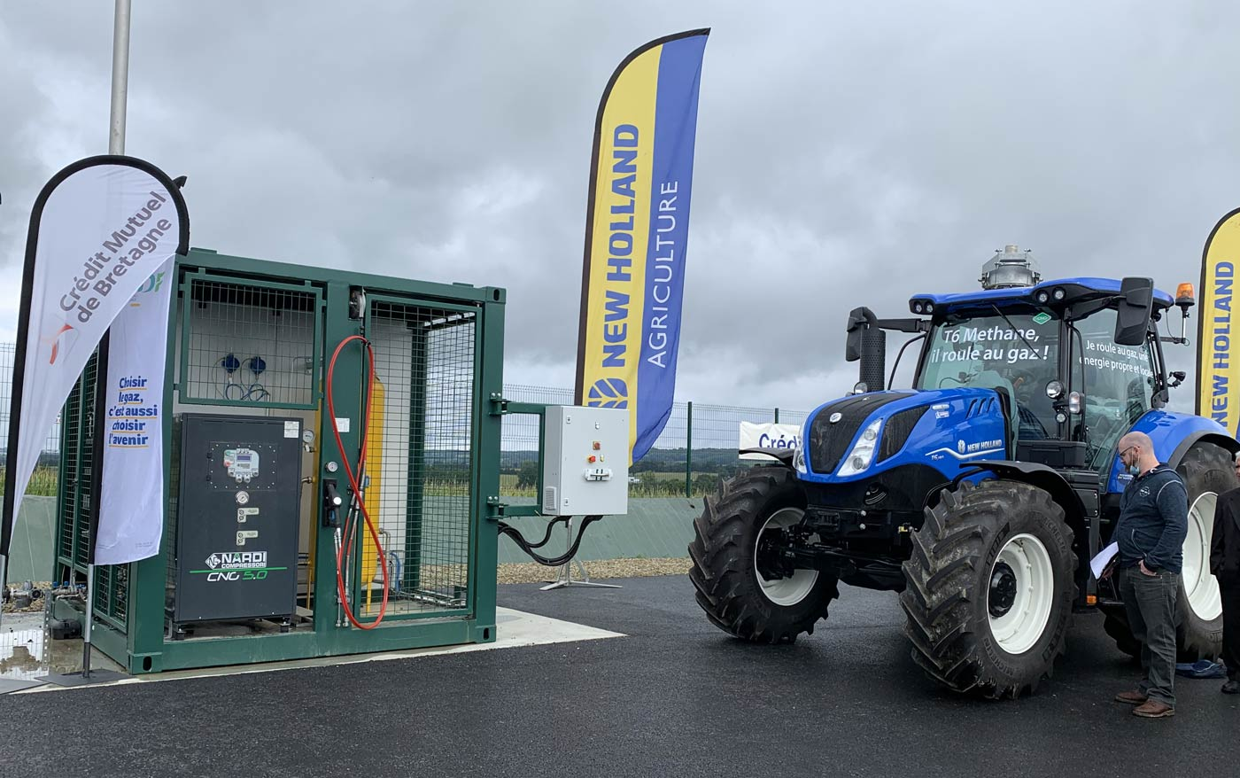 En Bretagne, le bioGNV s'installe à la ferme
