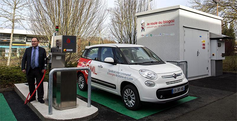 Le SIEML inaugure une station bioGNV mutualisée