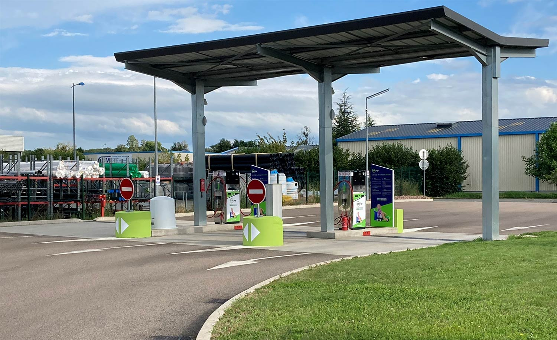 Gaz'Up ouvre une nouvelle station GNV en Saône-et-Loire