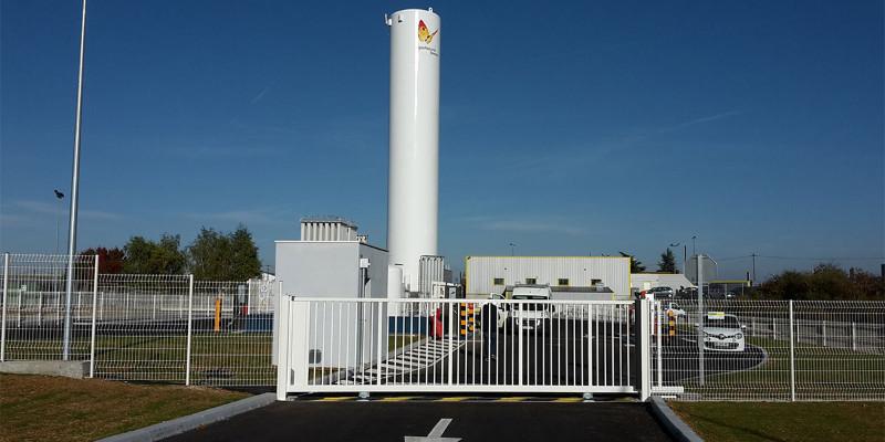 Gas Natural Fenosa ouvre sa station GNLC de Poitiers à tous les transporteurs