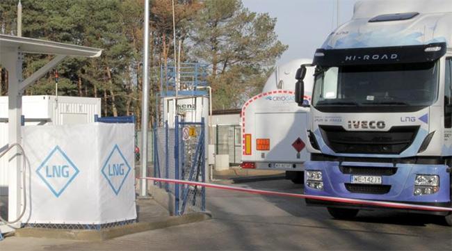La Pologne ouvre sa premi�re station GNL