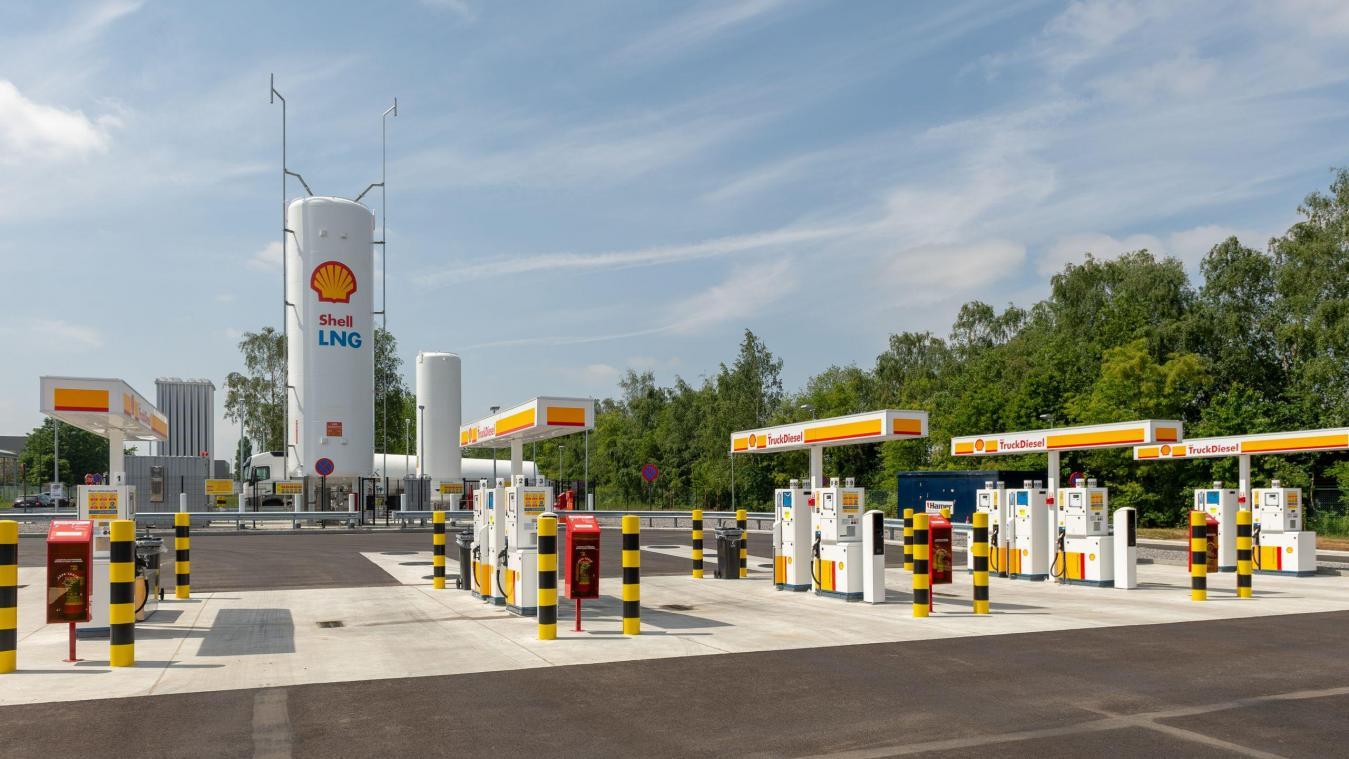 Shell ouvre sa première station GNL en Belgique