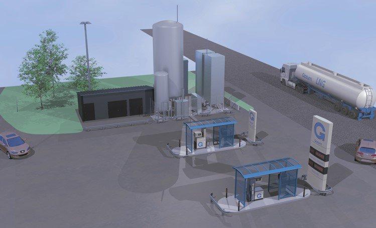 Finlande : une nouvelle station GNLC pour Gasum en septembre