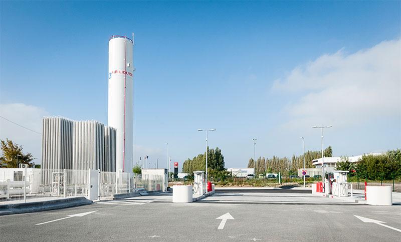 Auchan inaugure une station GNLC à Lesquin