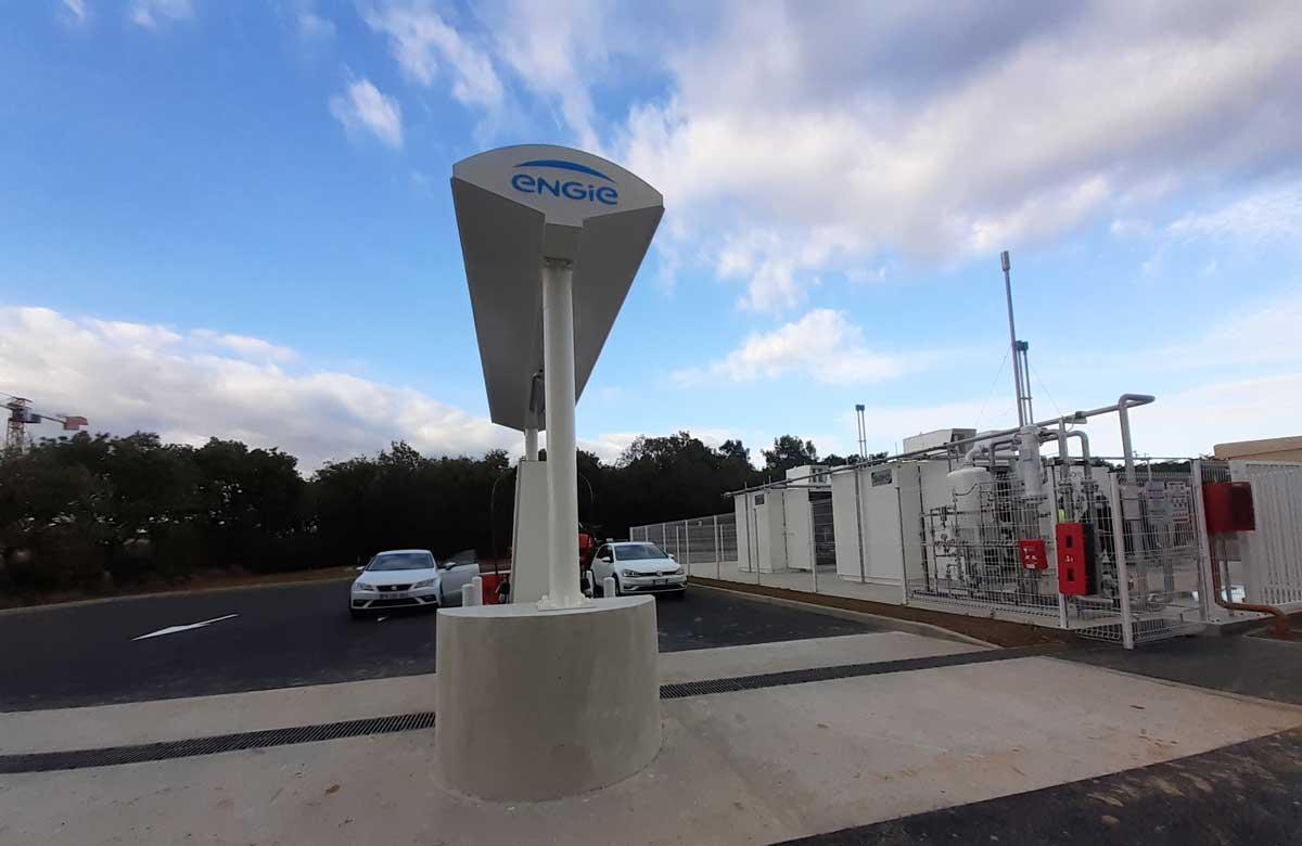 ENGIE Solutions ouvre une nouvelle station GNV à proximité du Mans