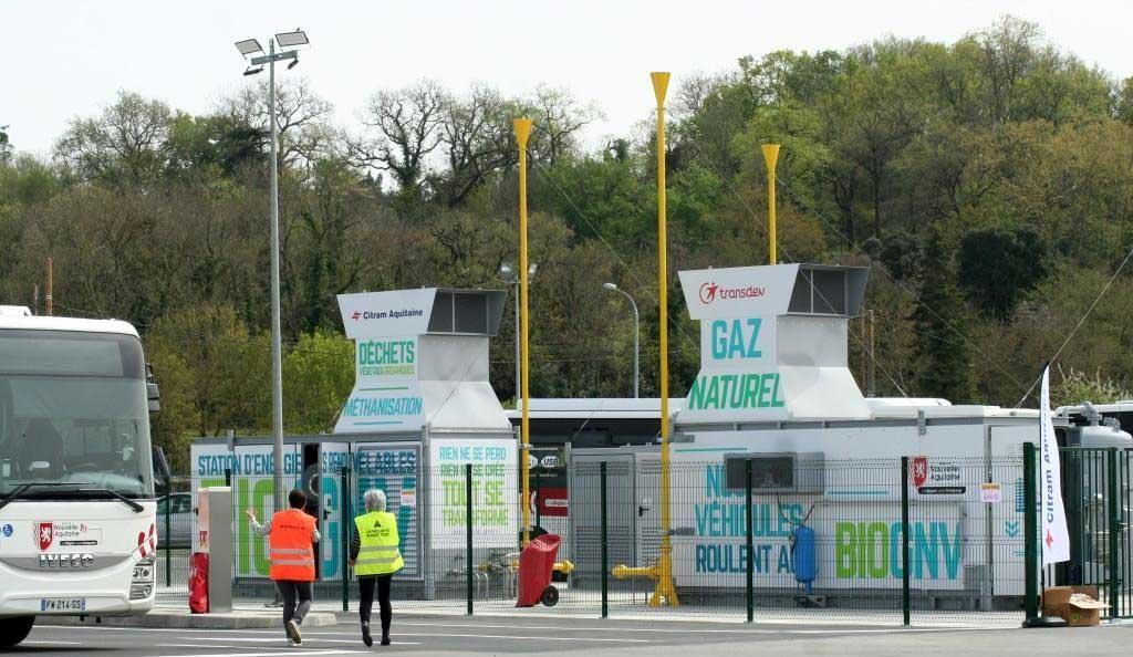 Gironde : une station pour les autocars GNV de Citram Aquitaine