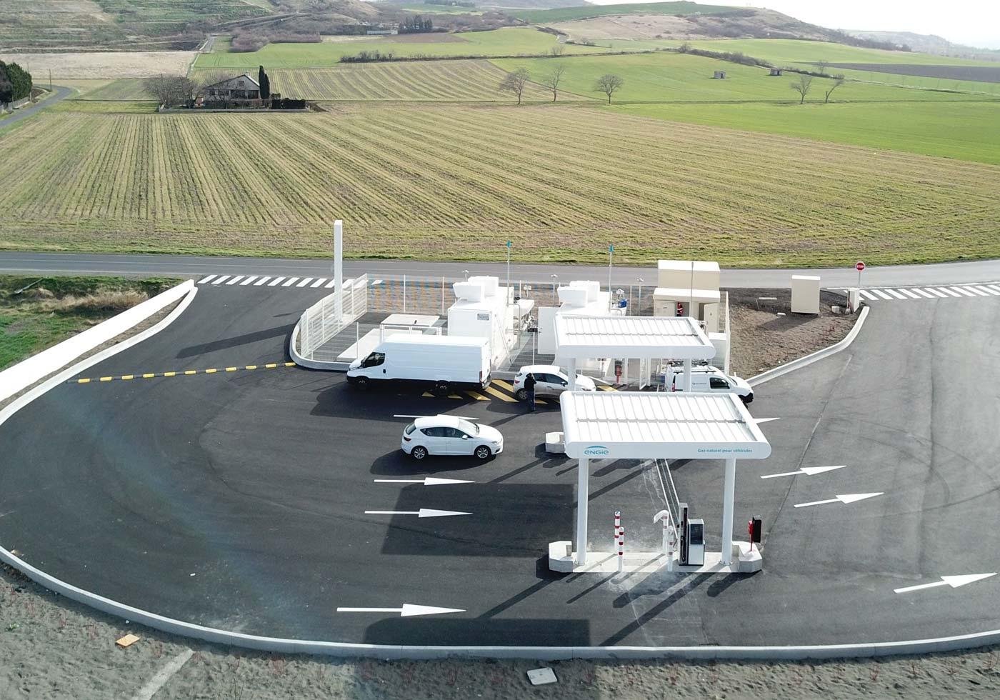 ENGIE Solutions annonce l'ouverture de la station GNV de Clermont Ferrand