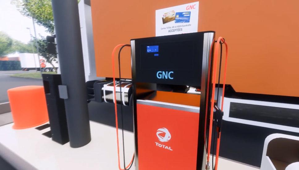 SIGEIF Mobilités choisit Total pour sa station GNV de Gennevilliers