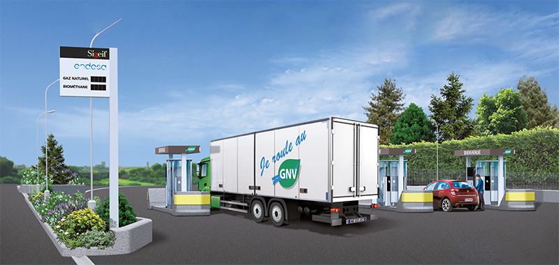 Le SIGEIF choisit Endesa pour l'exploitation de sa première station GNV
