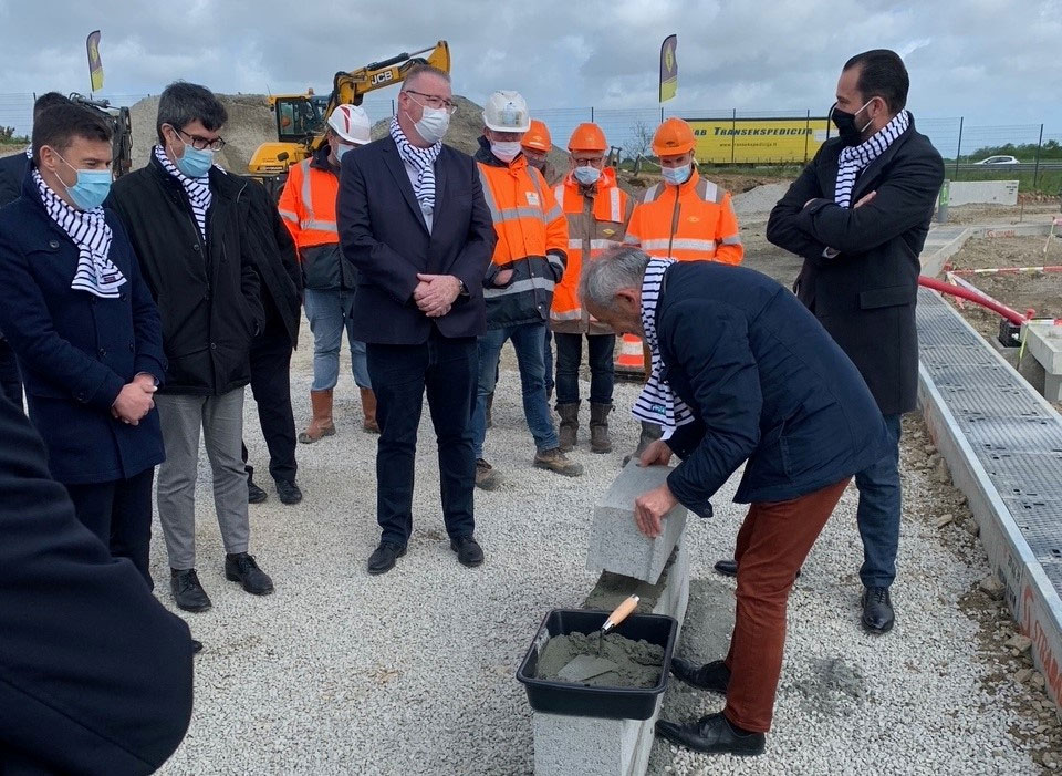 Finistère : le SDEF débute les travaux de la station GNV de Guipavas