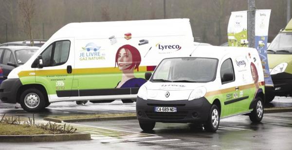 Lyreco s�associe � deux transporteurs pour une station GNV en Sa�ne-et-Loire