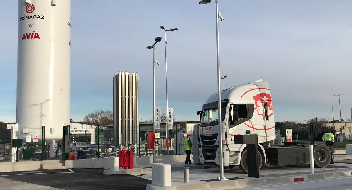 Primagaz annonce l'ouverture d'une nouvelle station GNV à Montélimar