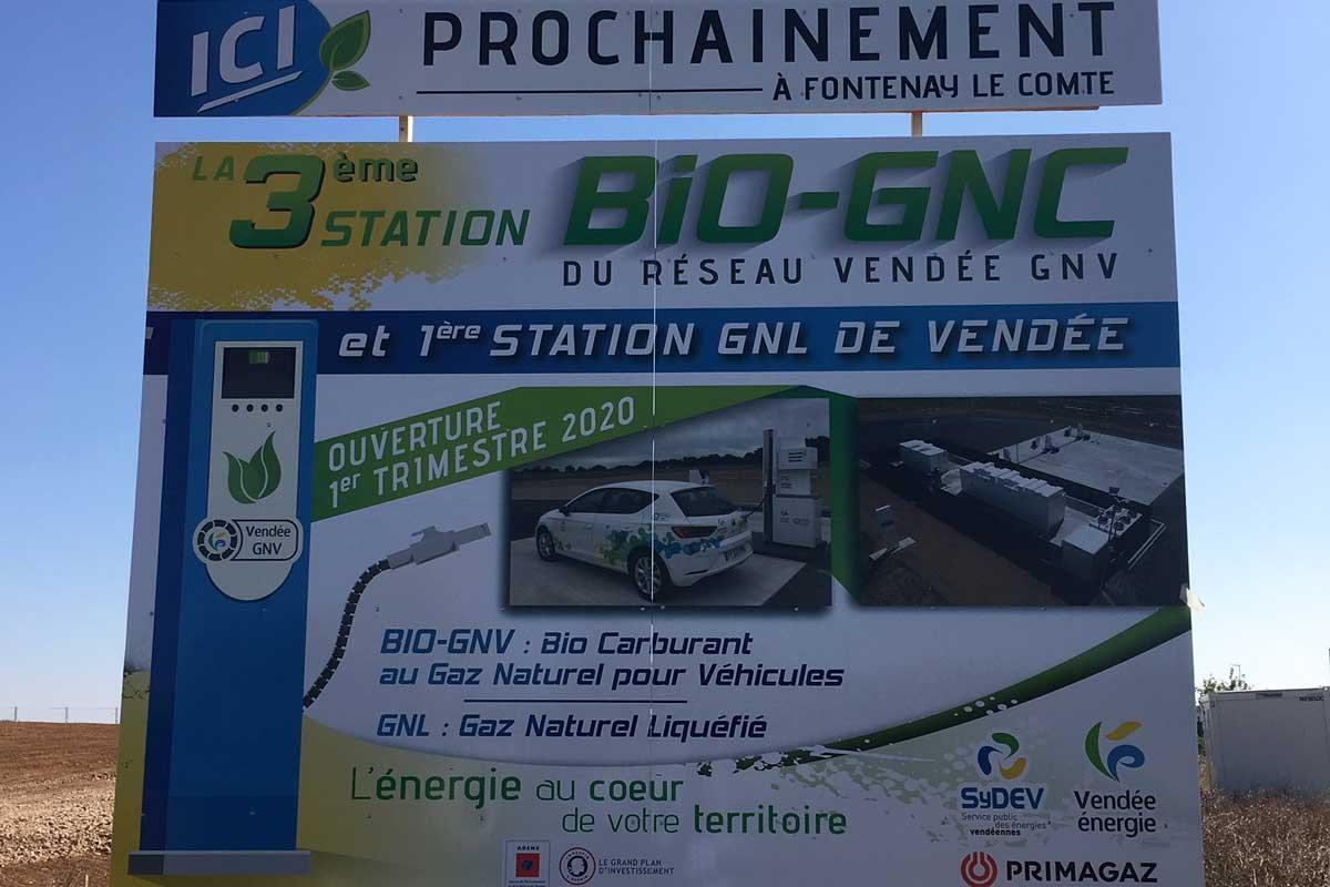 Vendée : la future station GNV de Fontenay-le-Comte entame ses travaux