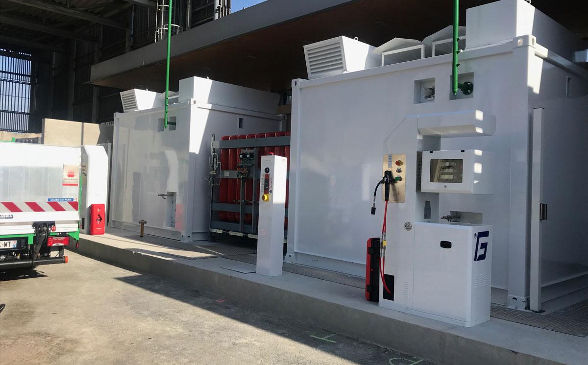 La nouvelle station GNV parisienne de Porte des Lilas bientôt inaugurée