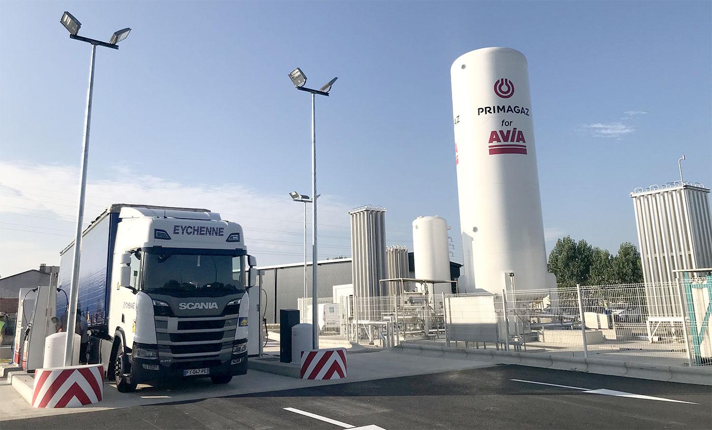 Primagaz ouvre une nouvelle station GNV à Toulouse
