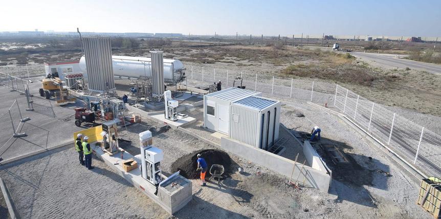 Marseille Fos : la station GNLC V-Gas de Proviridis sera ouverte en avril