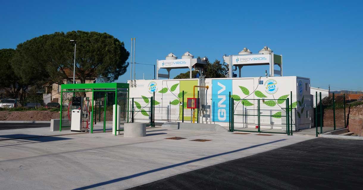 Puget-sur-Argens : la station GNV V-Gas de Proviridis ouvre ses portes