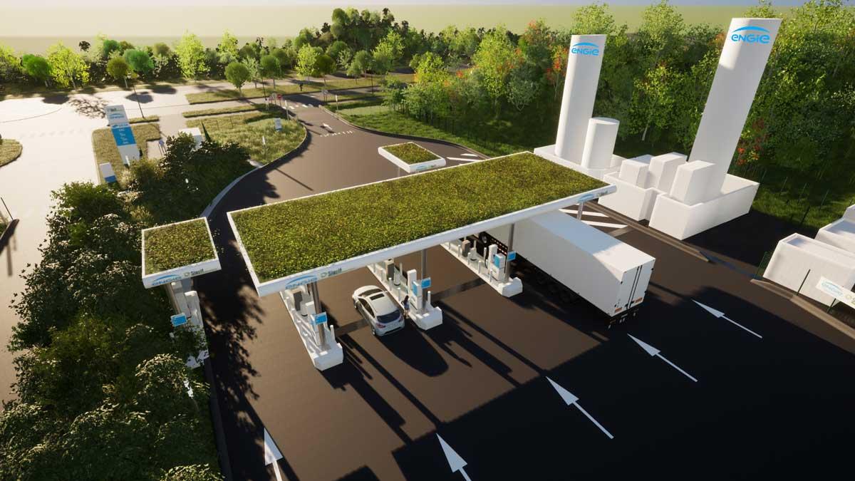 SIGEIF Mobilités retient ENGIE Solutions pour sa future station GNV de Réau