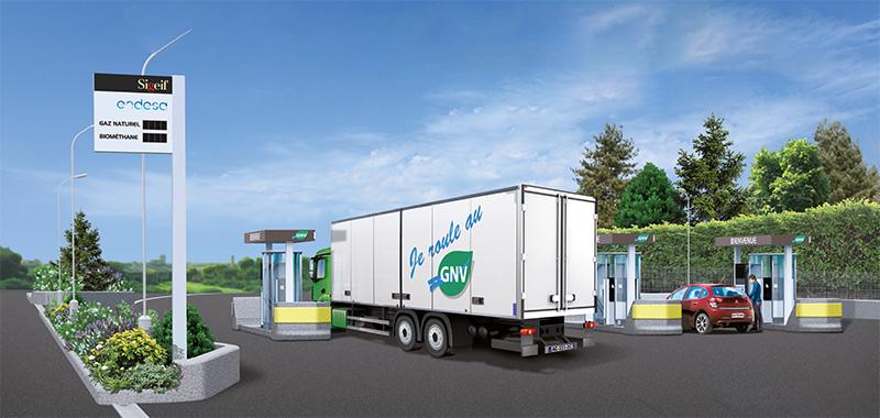 Stations GNV en Ile-de-France : le SIGEIF à la recherche de foncier pour étendre son réseau