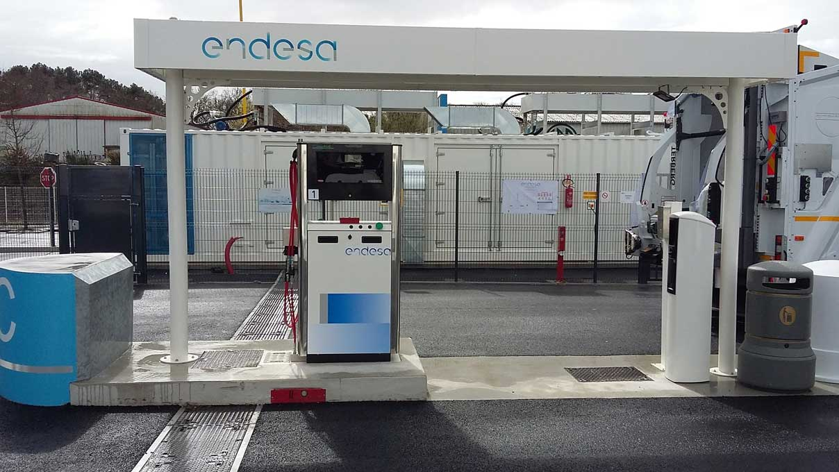 Morbihan énergies inaugure avec Endesa sa première station GNV à Vannes