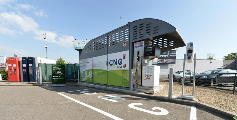 Belgique � Q8 Petroleum inaugure sa premi�re station GNV � Schoten