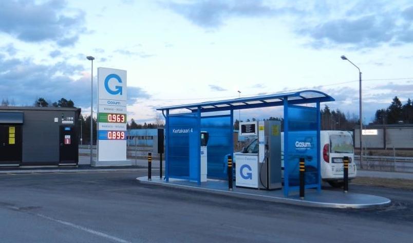 Le bioGNV atteint 30 % de parts de march�s dans les stations finlandaises