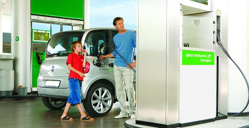 Suisse – Les ventes de voitures GNV en hausse de 30 % en 2014