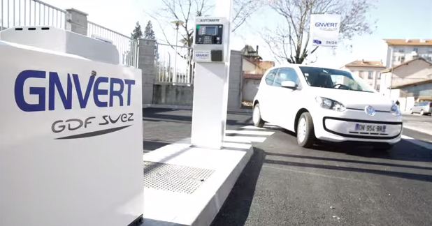 Villeurbanne inaugure sa premi�re station GNV ouverte au public