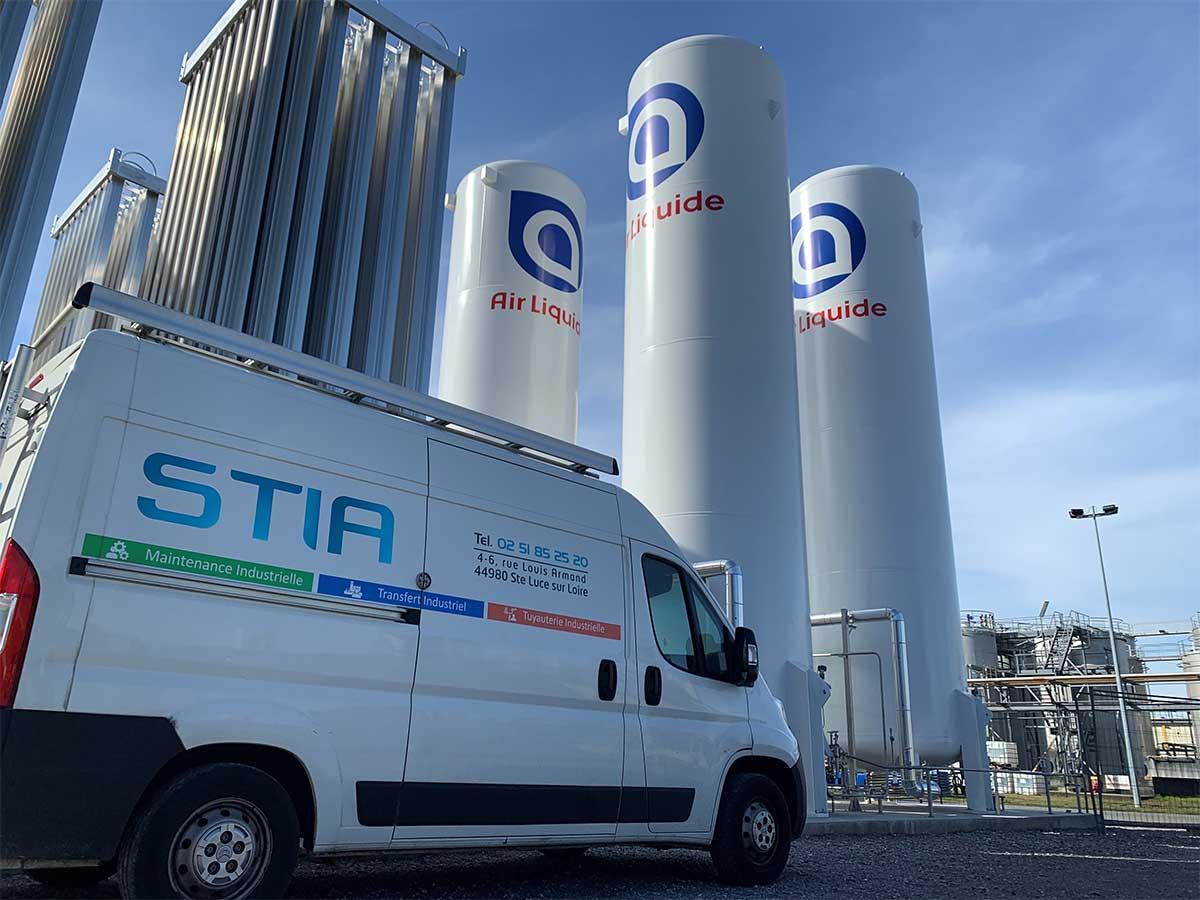 STIA : Expert en tuyauterie pour les gaz spéciaux, dont le GNV