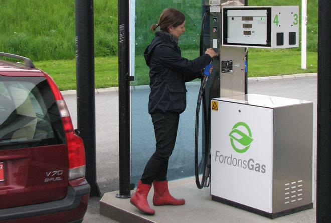 En Su�de, le biogaz repr�sente 70 % de la consommation des v�hicules GNV