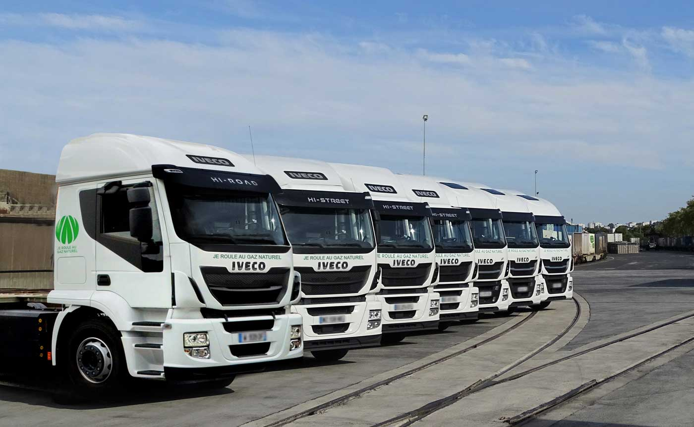 TAB Rail Road s'équipe de dix nouveaux camions GNV avec Iveco