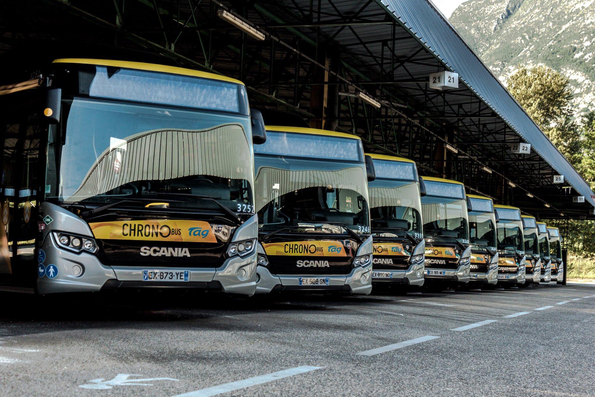 Grenoble : 8 nouveaux bus bioGNV pour le réseau TAG