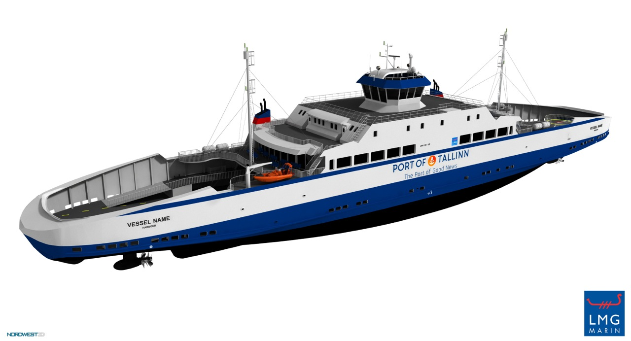 Estonie – Le Port de Tallin passe commande de 4 ferries au gaz naturel liquéfié