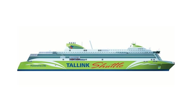 Mer Baltique - Le groupe Tallink passe commande d'un ferry GNL