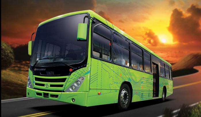 Delhi - Les bus GNV de Tata passent le cap du milliard de kilom�tres parcourus