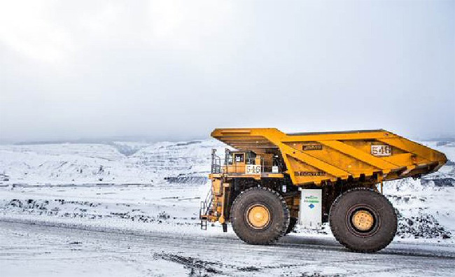 Canada � Une compagnie mini�re exp�rimente le GNL pour ses camions