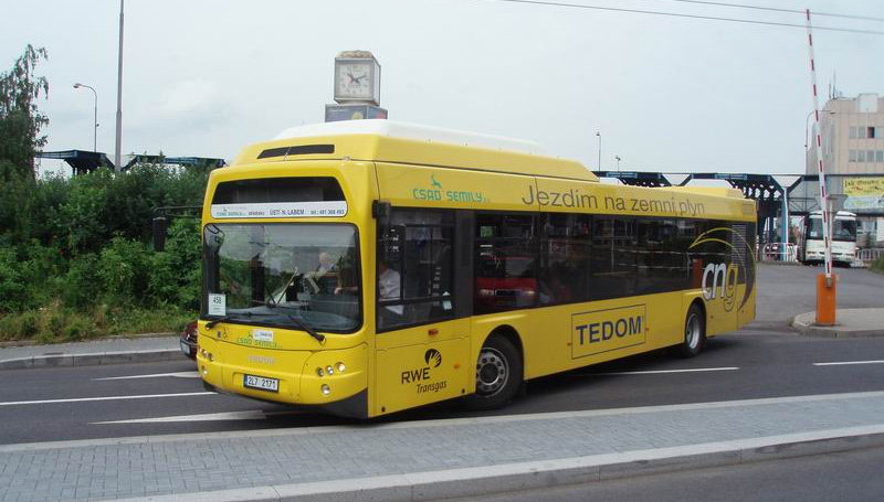 Bus GNV - Omnitek et Tedom re�oivent la certification Euro 6