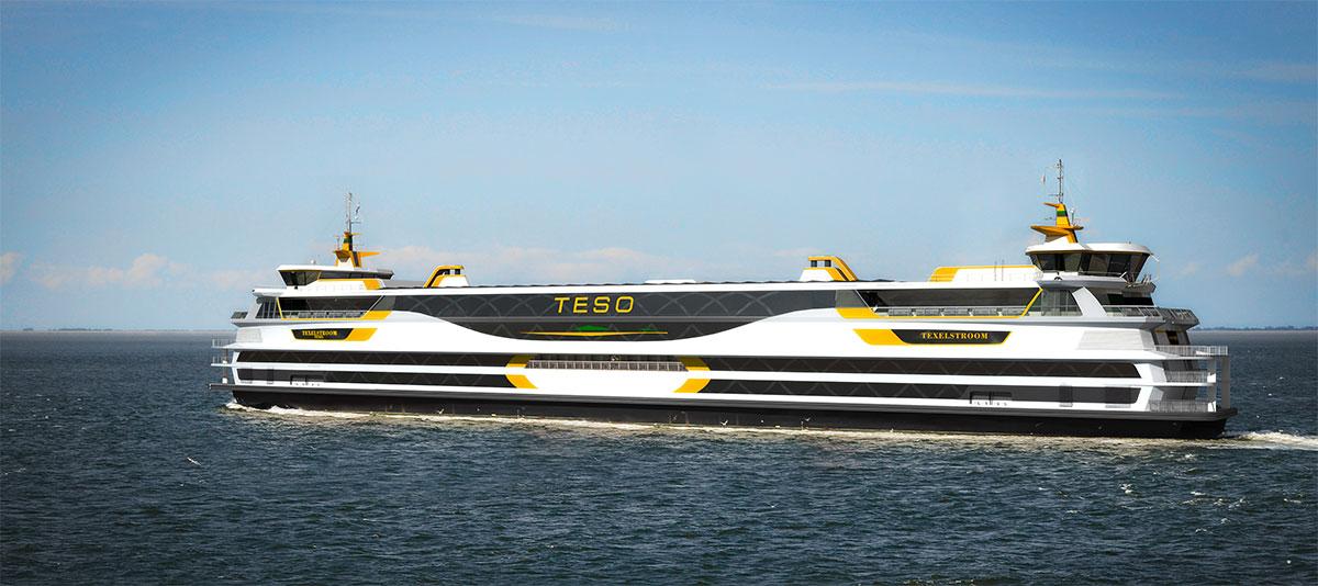 Le premier ferry au GNC d'Europe entre en service aux Pays-Bas